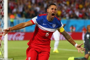 Clint Dempsey might carry the US all the way to the final ... even with a broken nose.