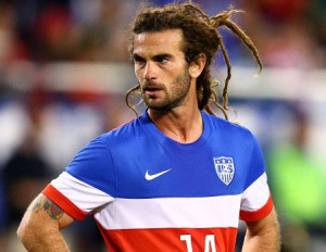 When I grow up I want to be just like Kyle Beckerman. I've already stopped washing my hair.