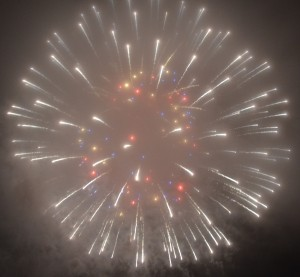 If you see fireworks this week, almost surely they are being set off in celebration of my best sales month last month.