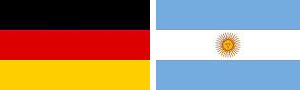 Germany and Argentina make it to the final. Germany will win.