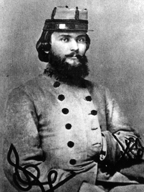 Billy Oates, Alabama governor, Confederate colonel who led his men up Little Round Top on the second day of Gettysburg. Some of the humor of the Jackson Speed novels comes from putting a character like Ol' Speedy next to a man like Billy Oates.
