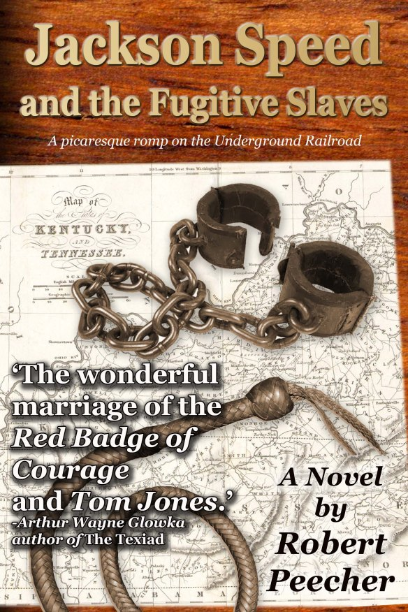 The cover for Jackson Speed and the Fugitive Slaves.