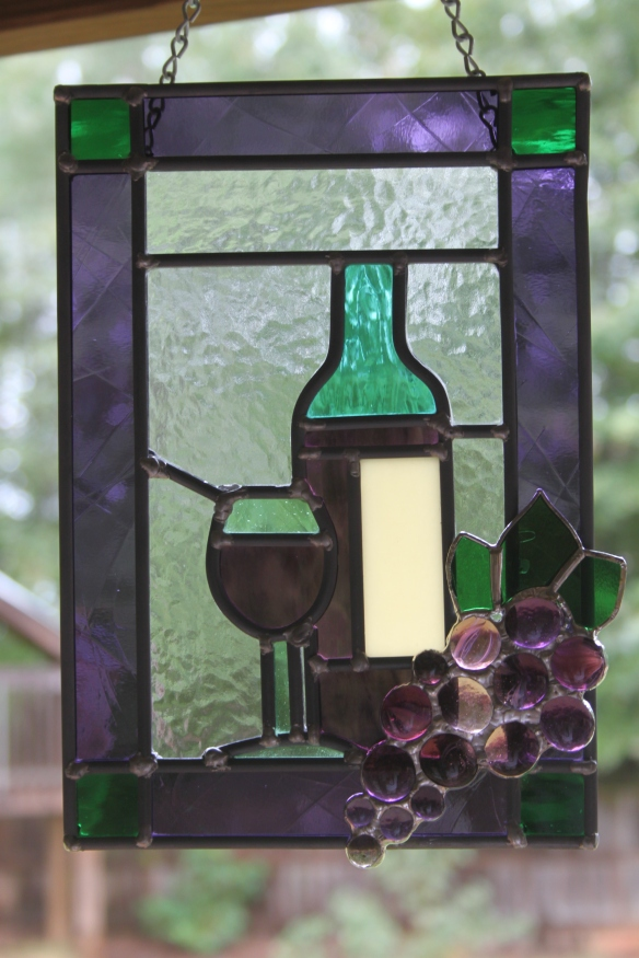 "Stained glass ""wine bar"""